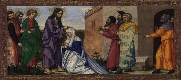 Bild Jesus heilt am Sabbat