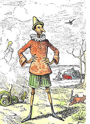 Pinocchio - von Enrico Mazzanti (1852-1910)
